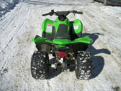 2007 Kawasaki KVF 90 atv 4 Wheeler - $900 (palmyra)