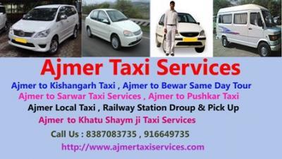 Cab hire in ajmer, Cab booking in ajmer, Cab in pushkar