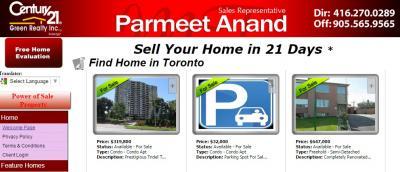 Greater Toronto Real Estate, Mississauga, Brampton, Milton, Toronto, Churchill Medows, Steel and Mis