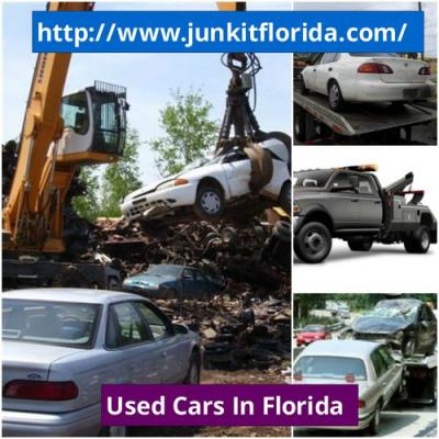 Sell junk cars and get cash from Junk It Florida