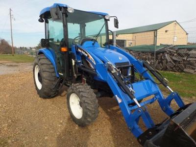 2007 NEW HOLLAND TC45DA 4WD TRACTOR