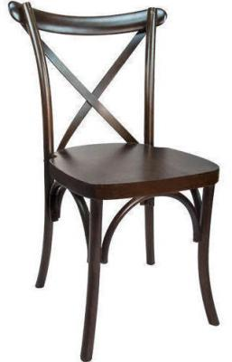 X Back Banquet Fruitwood Chairs