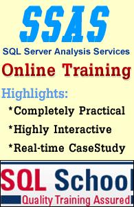 Excellent Online Training on SQL Business Intelligence (BI) at SQL School