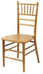 """Folding-Chairs-Tables-Discount.com - Natural """" Premium"""" Ballroom Chiavari Chair"""