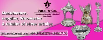 Silver Utensils Manufacturer India, Silver Bowl Manufacturer in delhi, SilverCoins Manufacturers, De