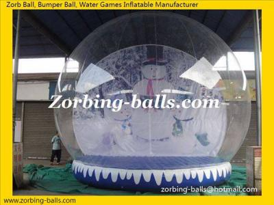 Show Ball, Inflatable Snow Ball, Snow Globe, Christmas Snow Ball