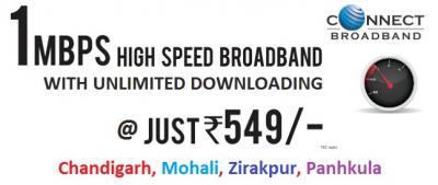 Broadband Plans in Chandigarh Tricity
