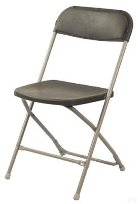 Discount Folding Chairs Larry Hoffman Presenting Charcoal Poly Folding Chair