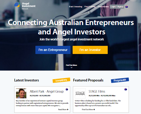 Looking for investment opportunities in Australia.