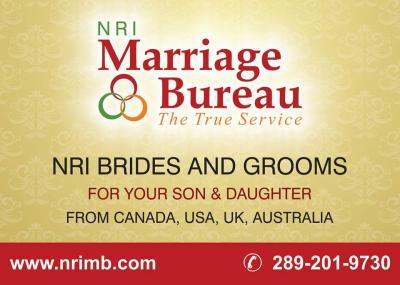 NRI Matrimonial Canada