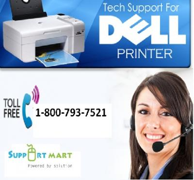 Dell Printer Tech Support Number: (800) 793 7521 Opens Door to Apt Services