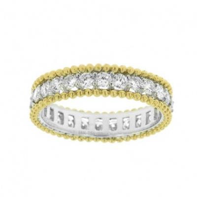 Ladies' Diamond Half-Way Band