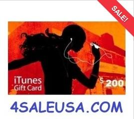 iTunes for sale