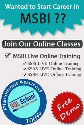 Best Training on SQL Business Intelligence @ SQL School