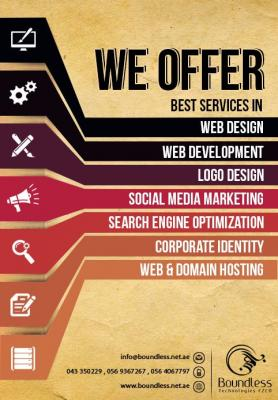 Unmatched and unparallel services of Web design in Dubai