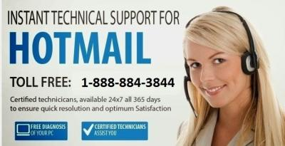Hotmail Customer Service Number 1-888-884-3844