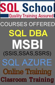 LIVE ONLINE TRAINING ON SQL Server 2012 & 2014 COURSE
