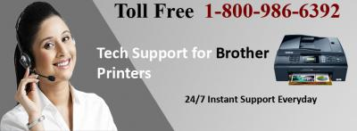 Brother Wireless Printer Troubleshooting Call 1-800-986-6392