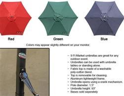 9ft Commercial Umbrella