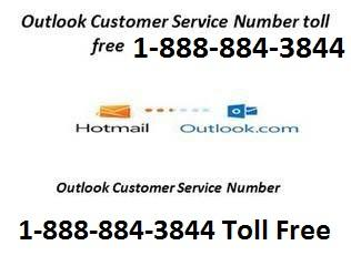 Outlook technical support Number 1-888-884-3844
