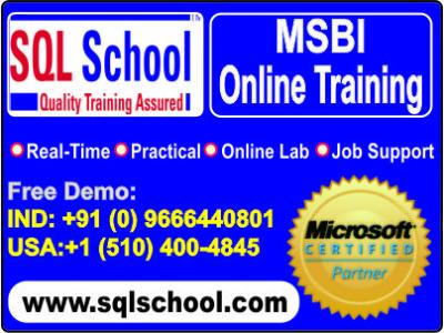 Practical online Training on MS Business Intelligence at SQL School
