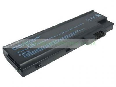 Laptop Battery for ACER Aspire 3000 8 Cell 14.8V 4400mAh black