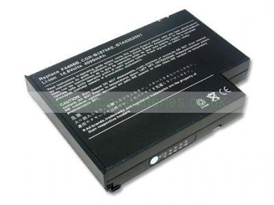 Laptop Battery for acer Aspire 1301XV 8 Cell 14.8V 4400mAh Black