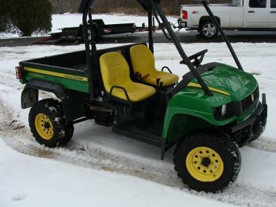 2009 John Deere Gator Diesel 850D 4x4 - $2500