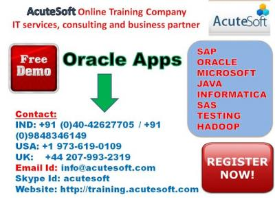 Oracle Apps online training