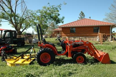 2006 KUBOTA B7500 4X4 Tractor