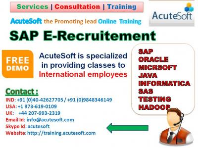 SAP E-Recruitment online training