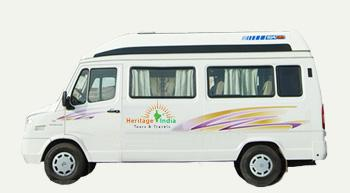 Hire Tempo Traveller in Delhi, NCR