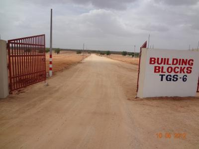 plot with 40 Feet Black Top Road Near Int Airport Hyderabadcall : 8121626378