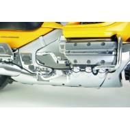 Chrome Rear Lower Cowl for Honda bikes