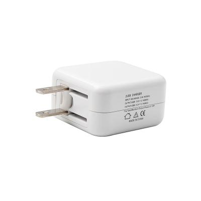 10W 2 USB Wall Charger Power Adapter for Apple iPhone