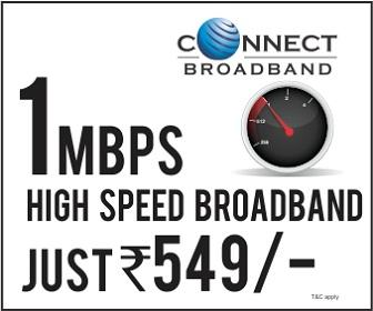 Unlimited Broadband @549 Only