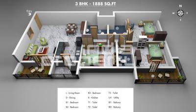 Residential Luxury apartments near Adyar