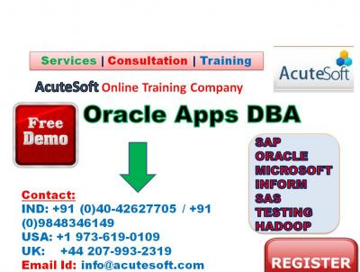 Oracle Apps DBA | Online Oracle Apps DBA training
