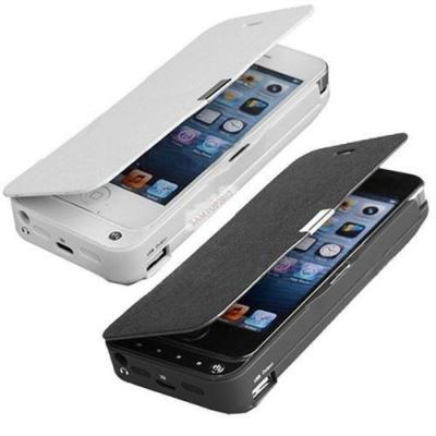4200mAh External Battery Backup Charging Bank Power Case Cover For iPhone 5S 5