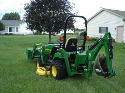 2oo6 john deere tractor loader