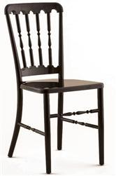 Black Metal Versailles Chair Larry