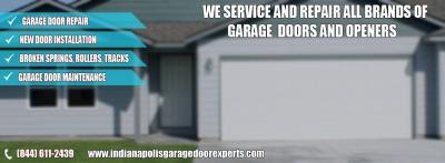 Provide 24/7 Garage Door Repair Service Indianapolis, IN