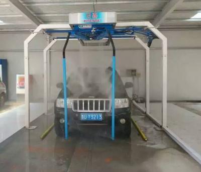 Automatic automated auto washing vehicle car wash machine equipment