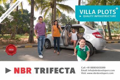 NBR Trifecta, lavish villa plots in Sarjapura
