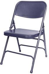Blue Metal Folding Chair – California Chiavari Chairs