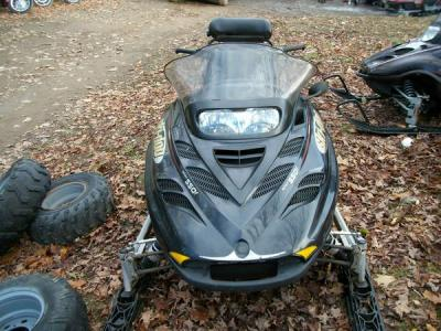 2003 Bombardier Skidoo Grand touring 550 fan snowmobile - $1500