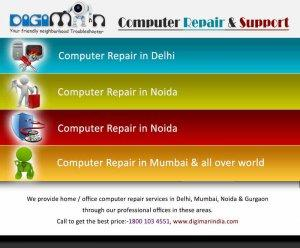 Highly Reliable Annual Maintenace Contract Providers for Branded laptops India - Delhi