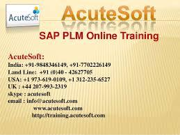 SAP PLM | Online SAP PLM training