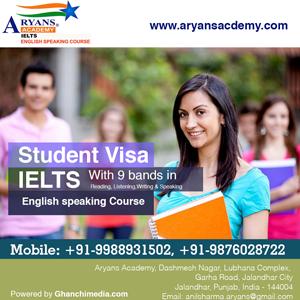 Best Ielts Academy in Jalandhar, Aryans Academy