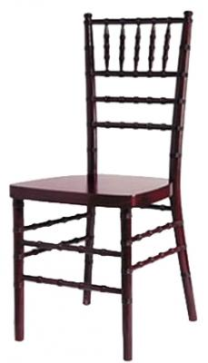 Mahogany Chiavari Chair - wholesale chairs and tables discount larry